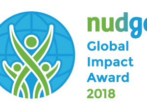 Announcing the finalists of the Nudge Global Impact Award 2018