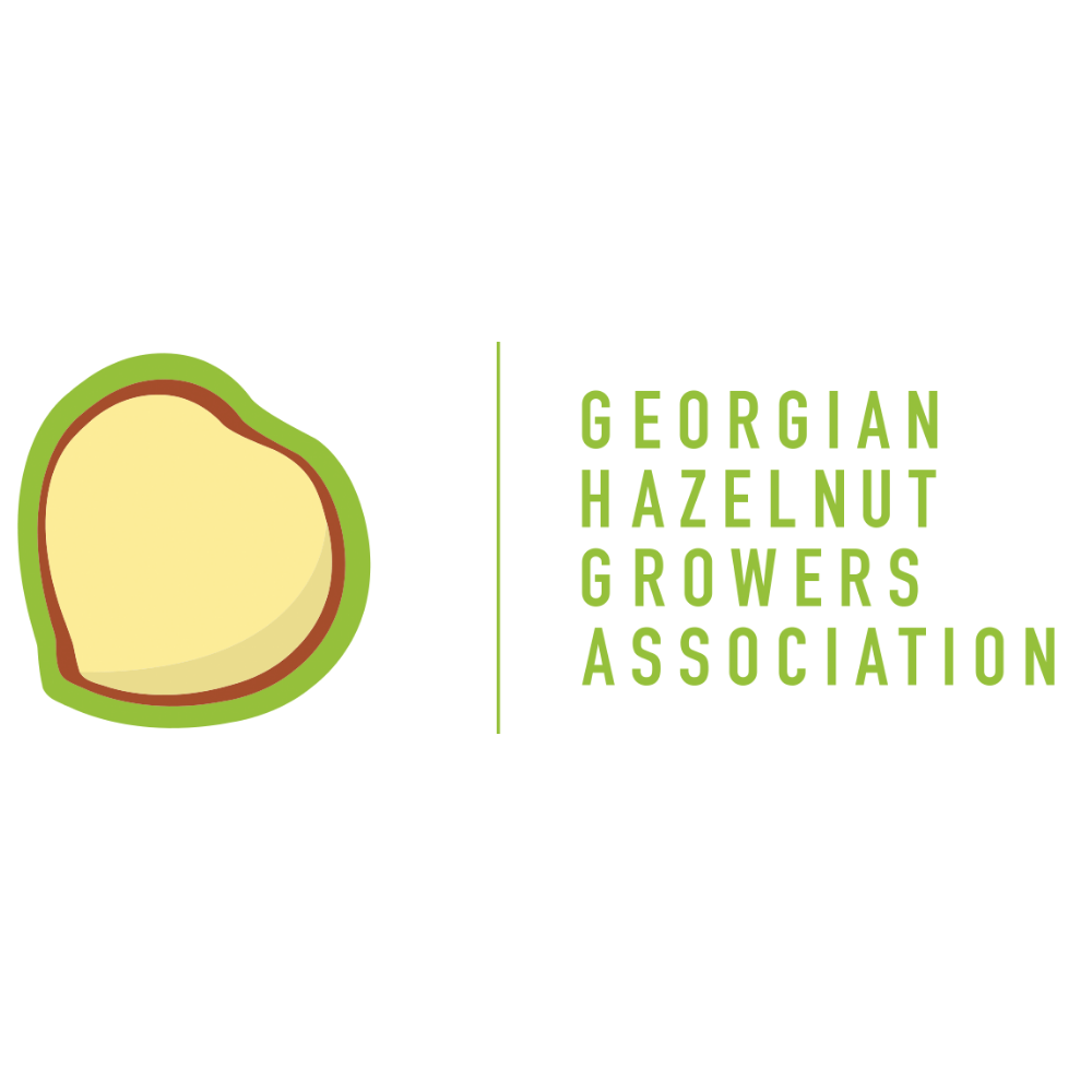 Georgian hazelnut association logo