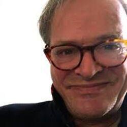 Maarten van Walsem man white glasses grey hair
