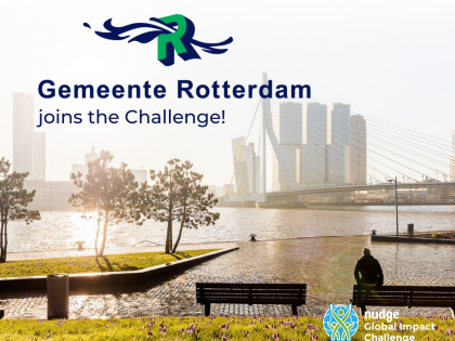 The Municipality of Rotterdam continues its commitment to sustainability and joins the Challenge 2020