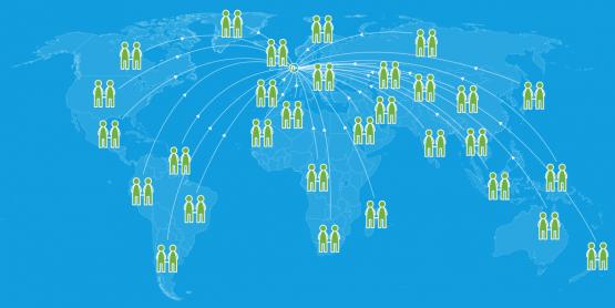 map participants