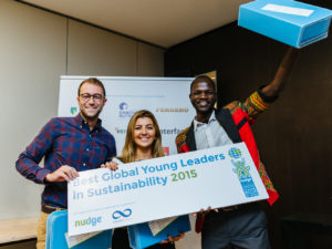 PRESS RELEASE: winners Nudge Global Leadership Challenge 2015